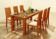 Mẫu bàn ghế ăn 03