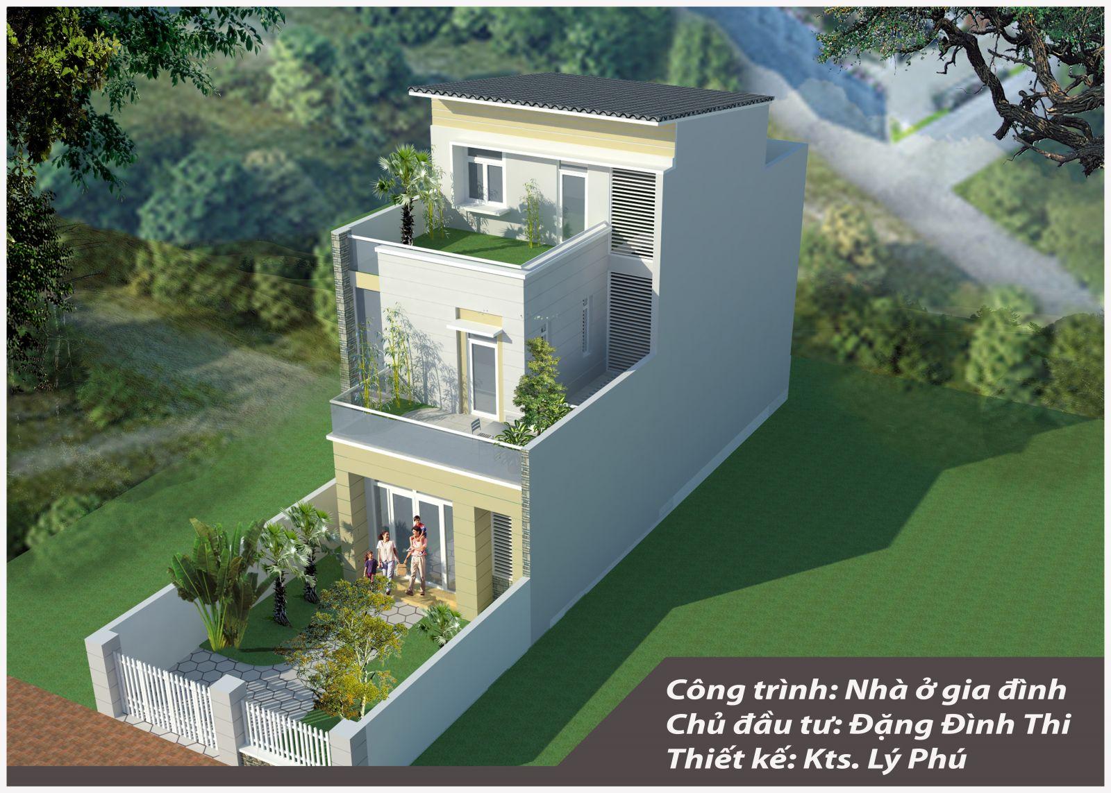 Nhà phố 7x23m - Thị xã Đồng Xoài  - Tỉnh Bình Phước
