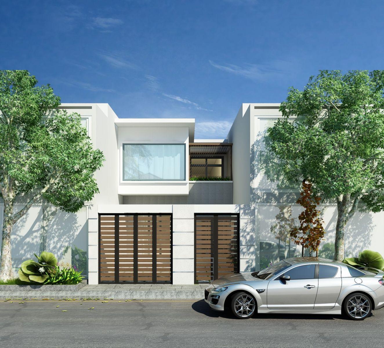 Nhà phố 6x20m tại Phú Mỹ - Tp.Thủ Dầu Một - T.Bình Dương