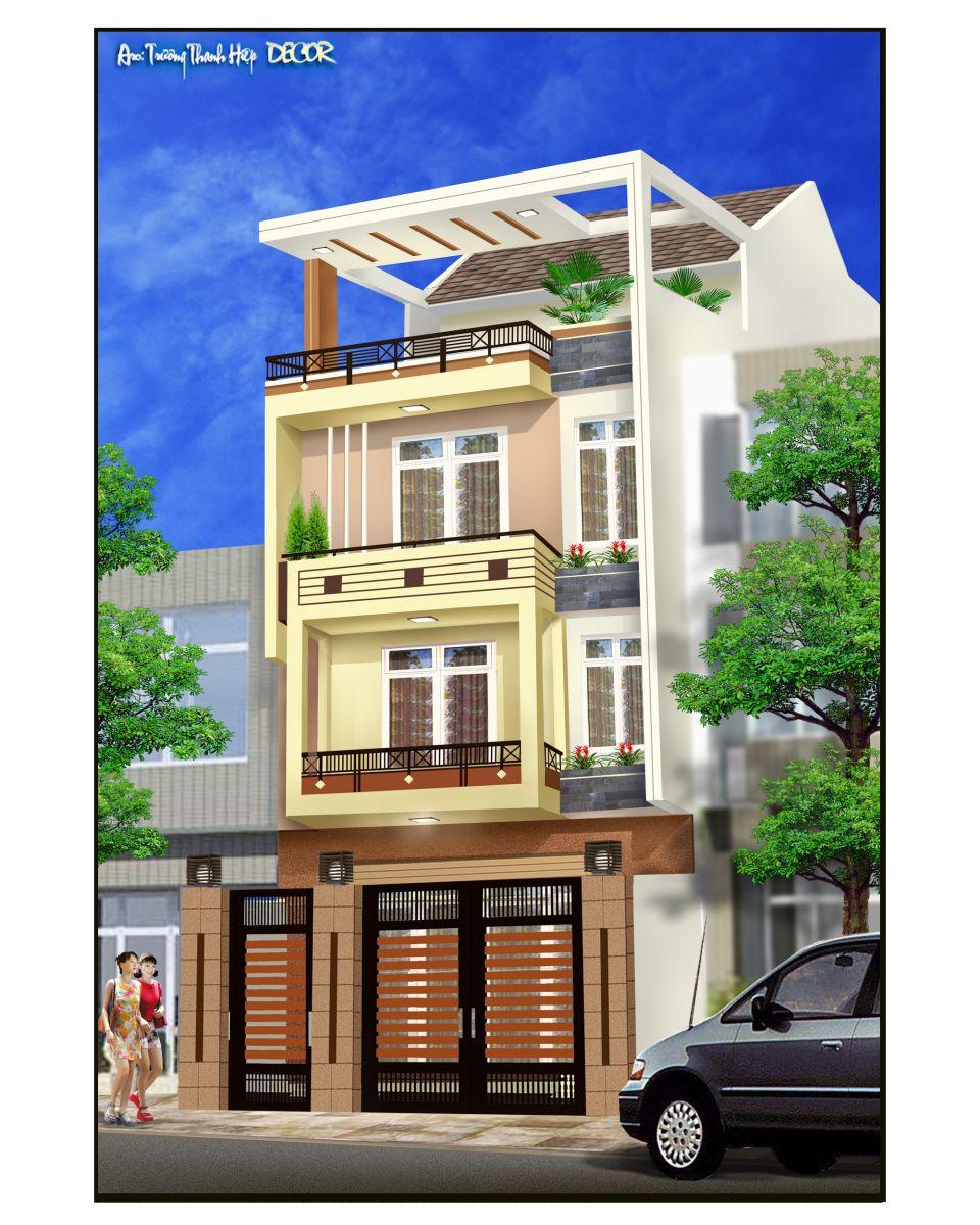 Nhà phó 5x21m - KDC Phước Kiển - Huyện Nhà Bè - Tp.Hồ Chí Minh