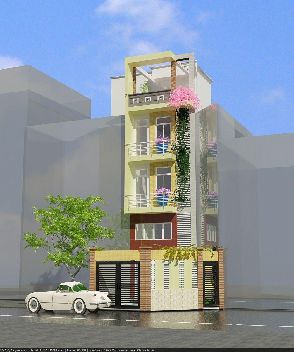 Nhà phố 5x15m - đường Lê Đại Hành - Quận 11 - Tp.Hồ Chí Minh